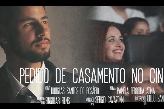 Capa do post PEDIDO DE CASAMENTO NO CINEMA